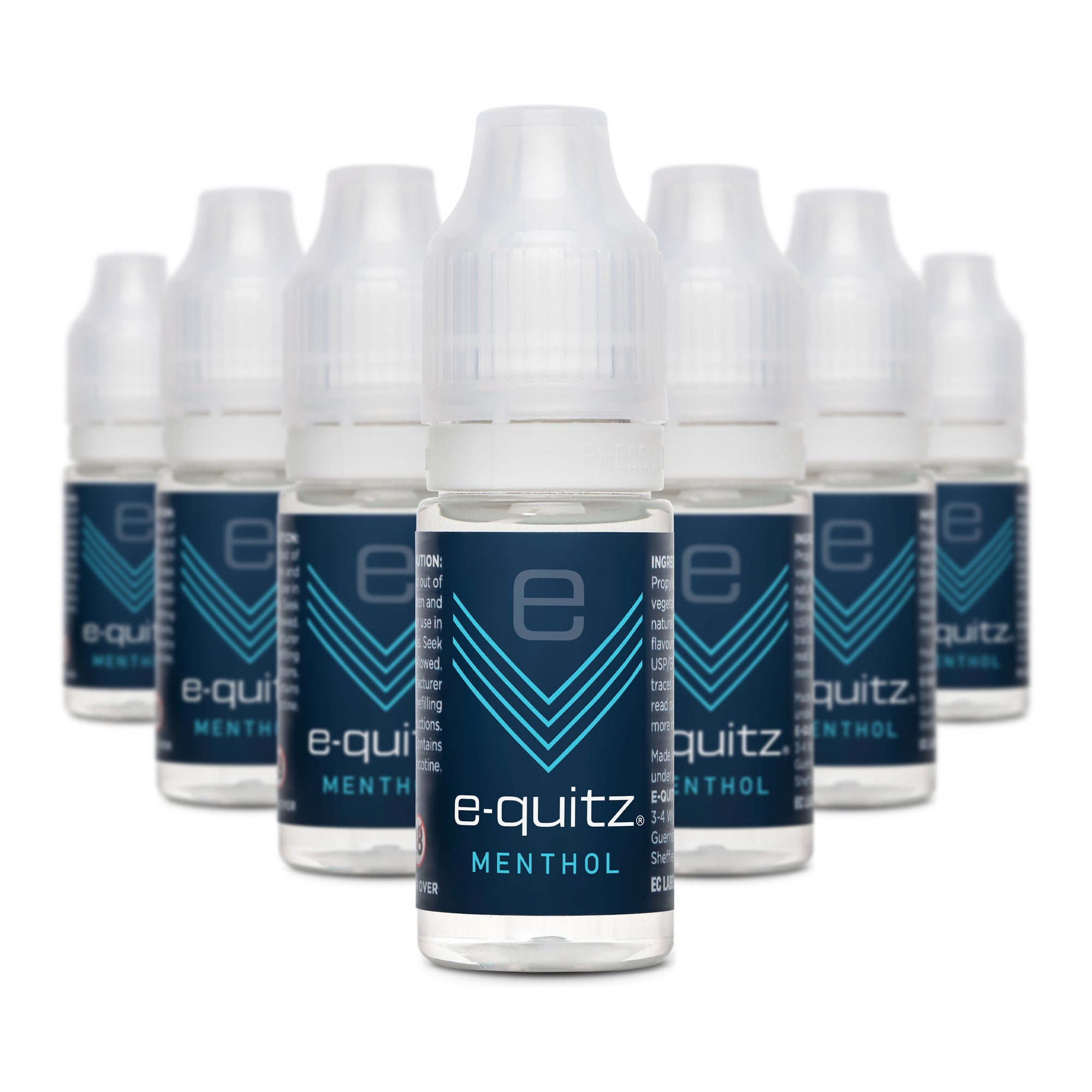 e-quitz menthol subscription e-liquid range
