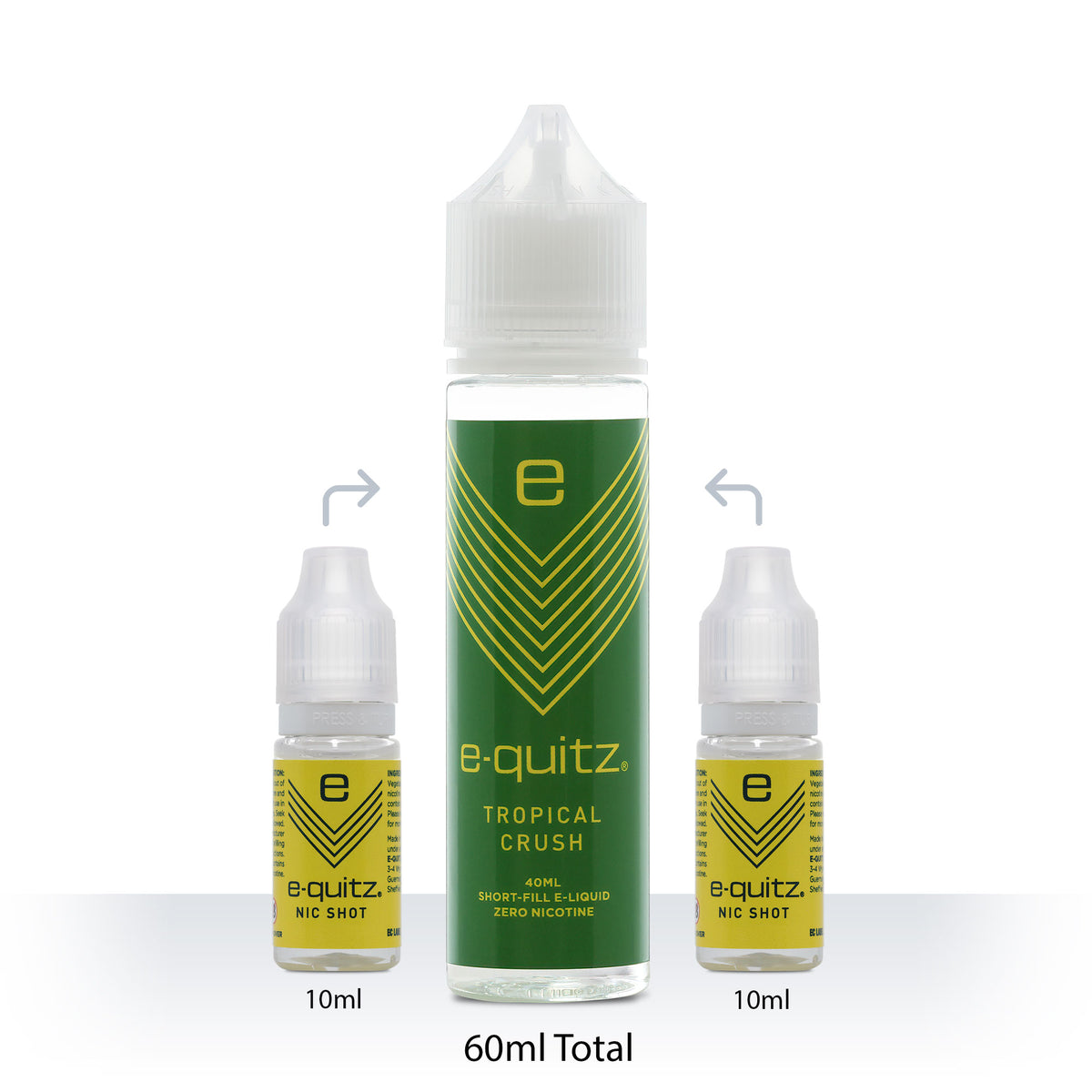 e-quitz tropical crush Short Fill e-liquid