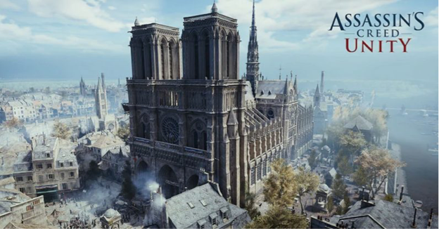 Assassin's Creed Unity Redeems Itself with 3D Digital Scans of Notre Dame de Paris