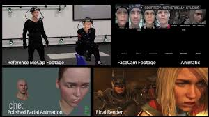 Mocap Markers in action