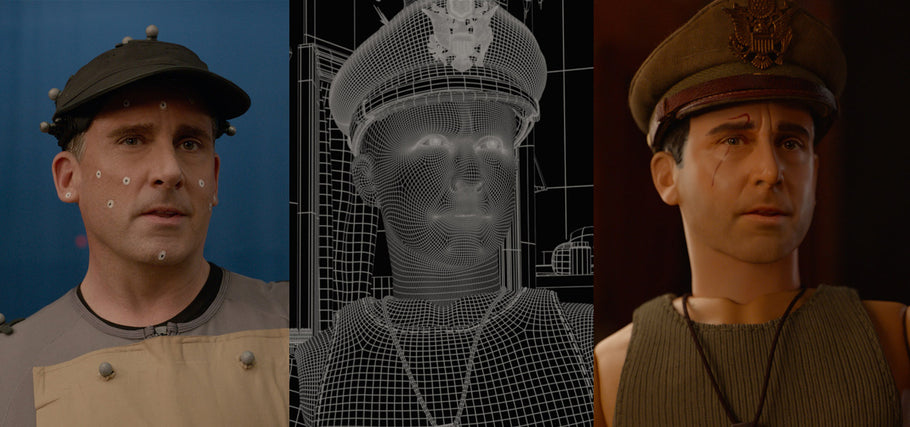 A Peak Inside the Motion Capture VFX for Welcome to Marwen