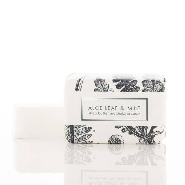 Aloe & Mint Shea Butter Soap