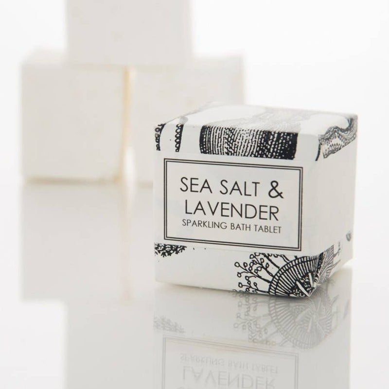 Sea Salt & Lavender Sparkling Bath Tablet