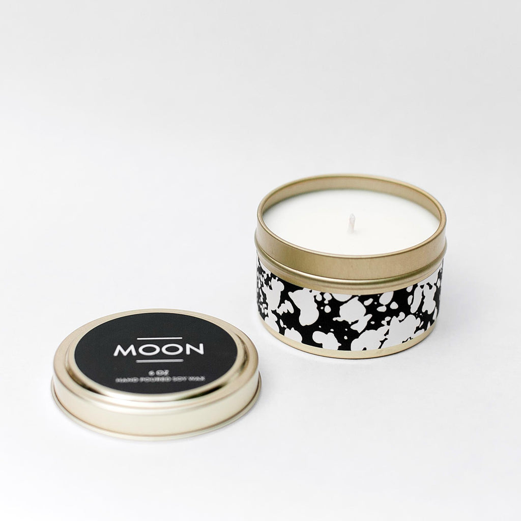 Moon Tin Candle