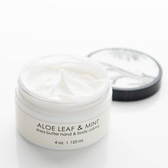 Aloe Leaf & Mint Hand & Body Cream