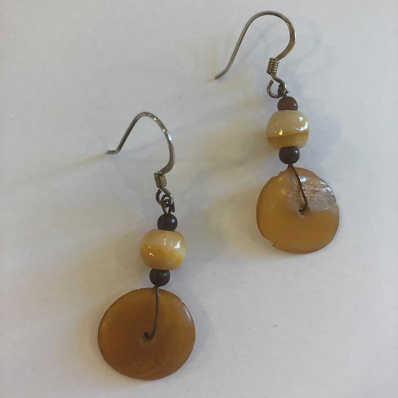 Horn & Stone Earrings