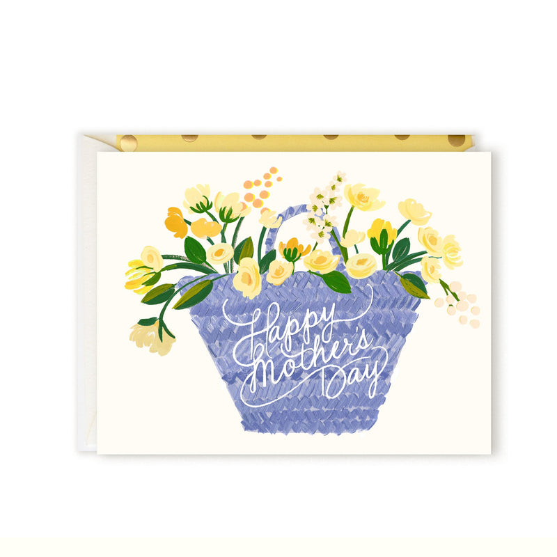 Mother's Day Tote Greeting Card