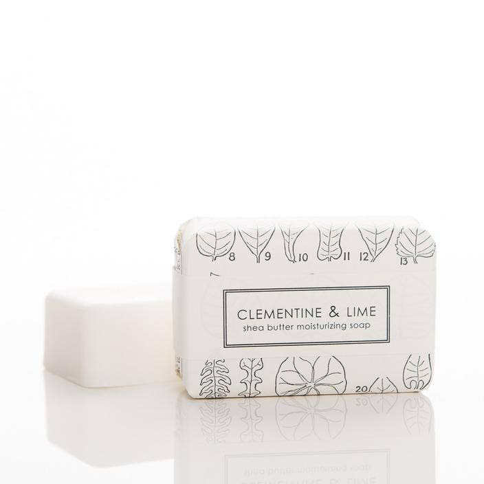 Clementine & Lime Shea Butter Soap