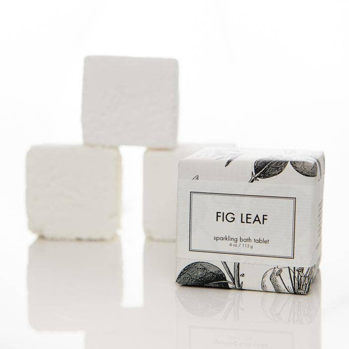 Fig Leaf Bath Tablet