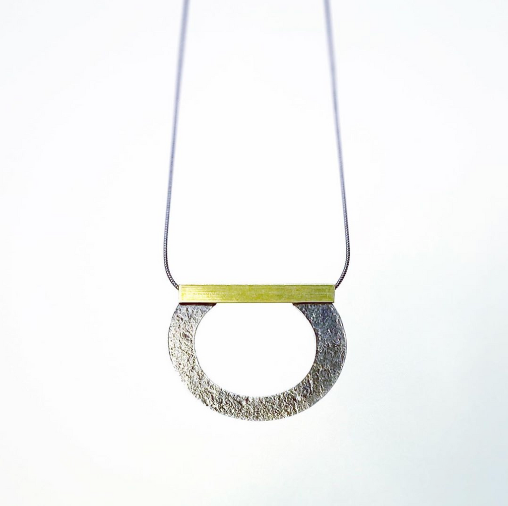 D Washer Necklace