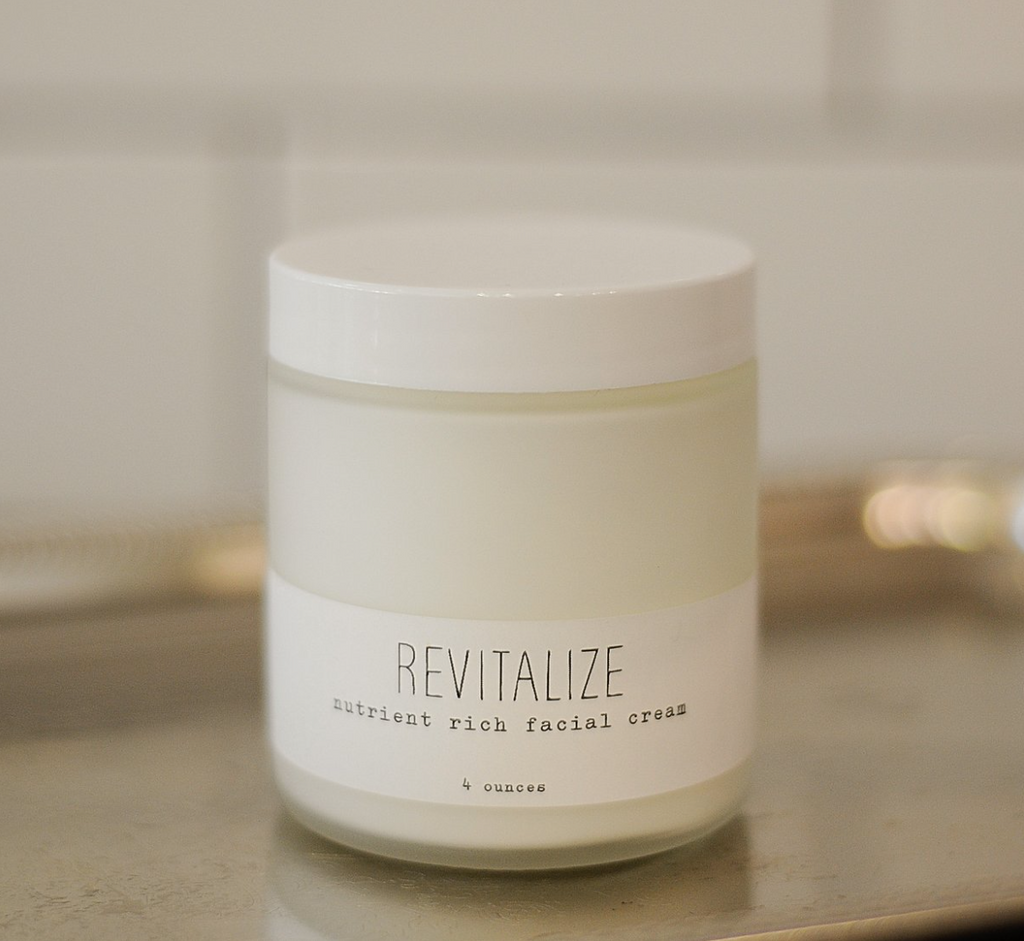 """Revitalize"" Nutrient Rich Facial Cream, 4 oz"