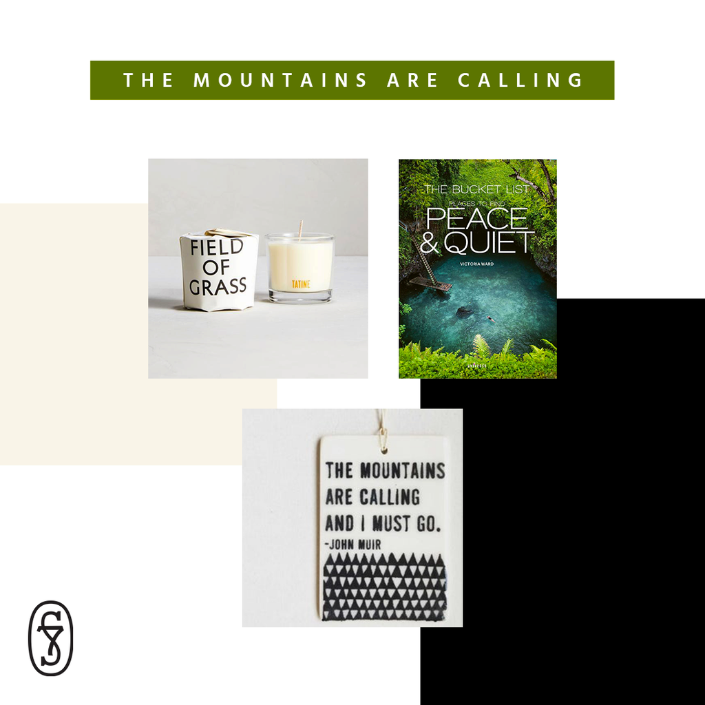 'The Mountains Are Calling' Care Package