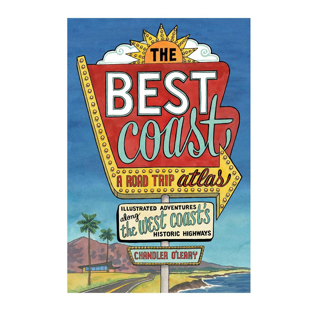 Best Coast: A Road Trip (Book)