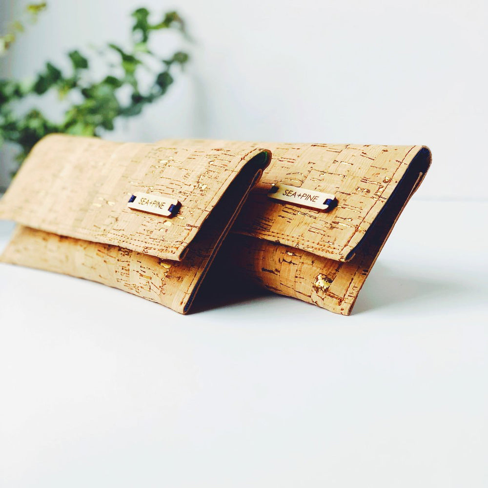 Palm Collection Cork Wallet
