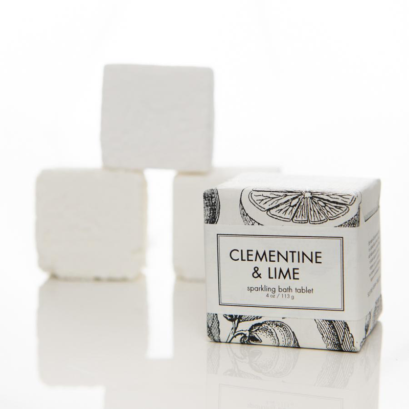 Clementine & Lime Sparkling Bath Tablet