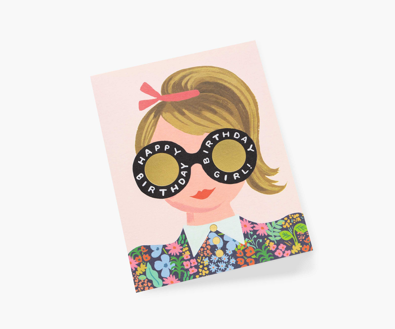 Meadow Birthday Girl Greeting Card
