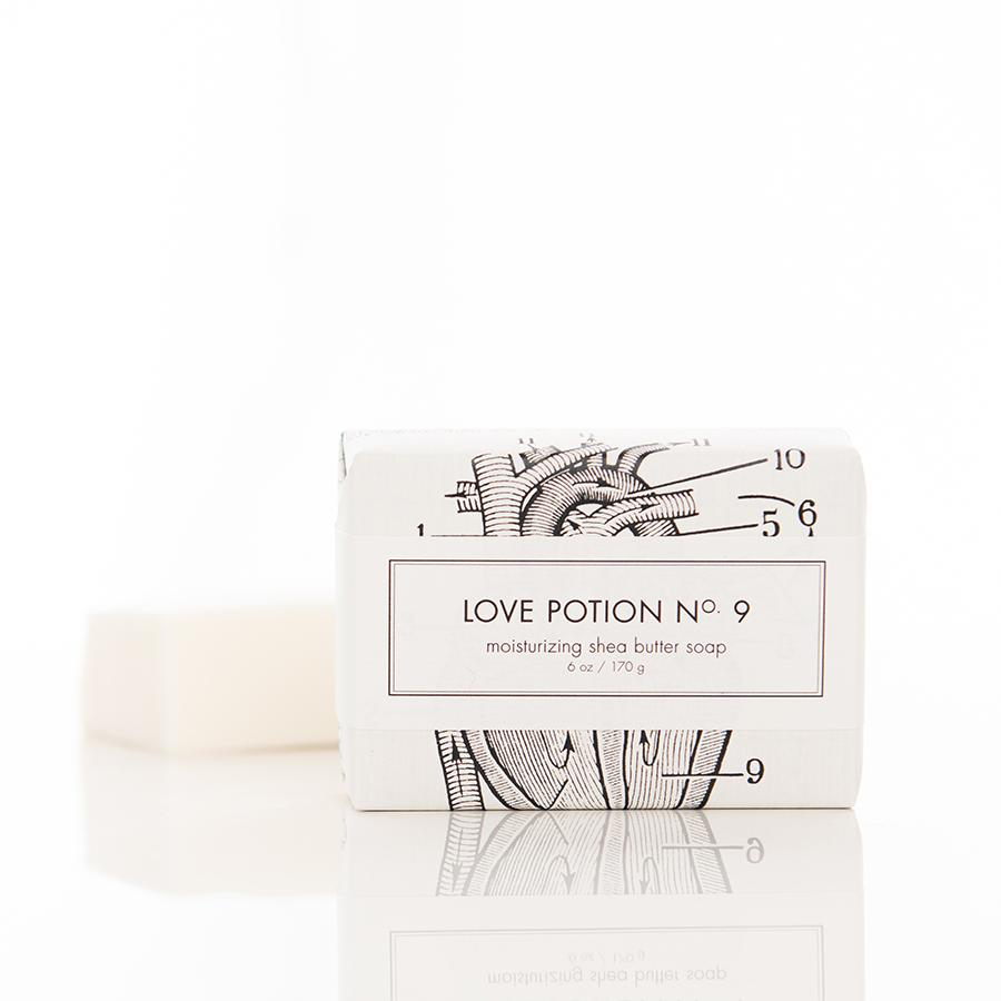 Love Potion #9 Shea Butter Soap