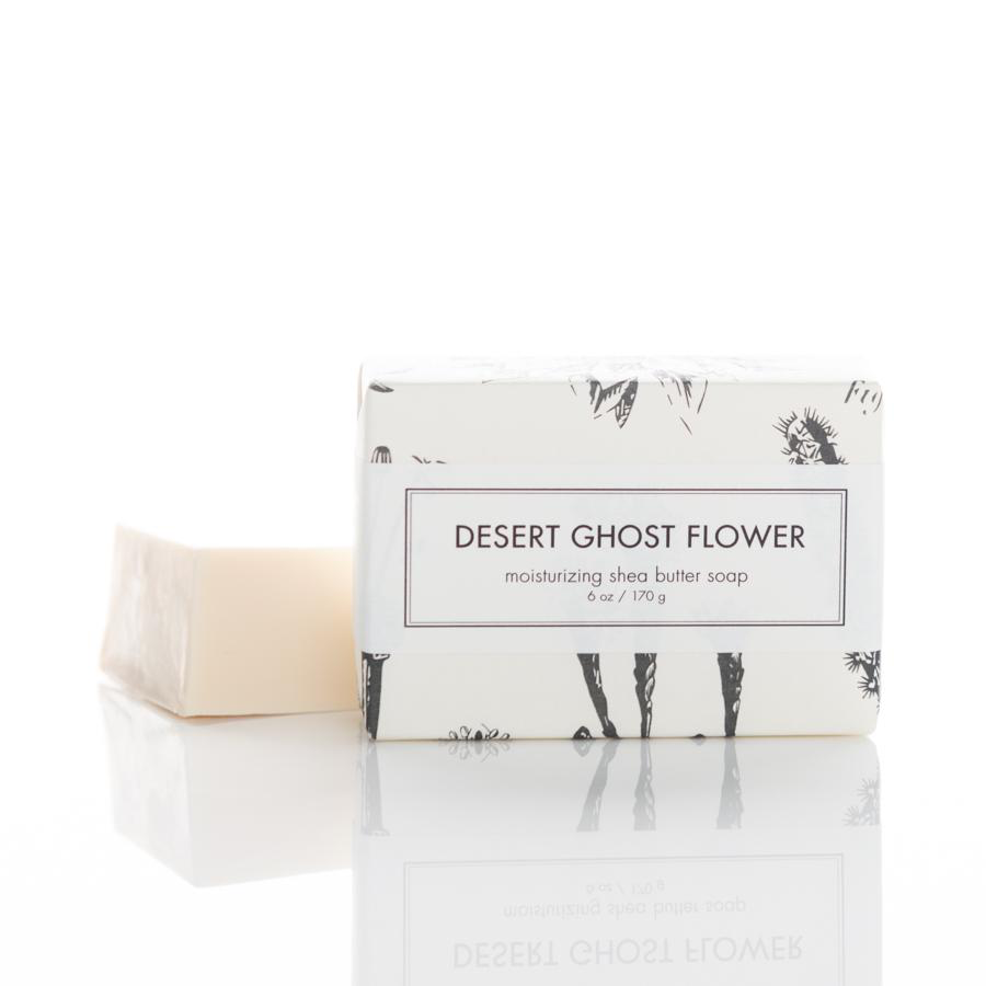 Desert Ghost Flower Shea Butter Soap