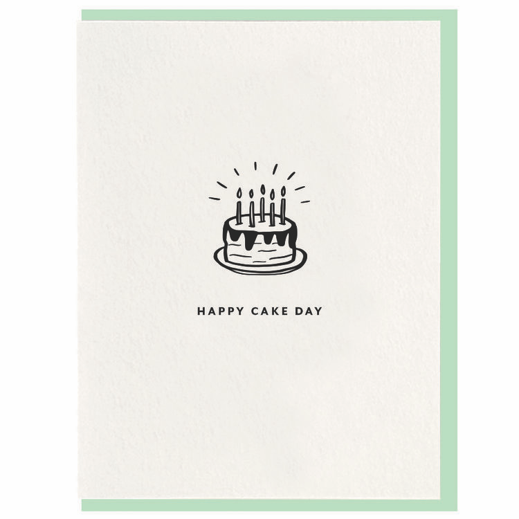 Happy Cake Day Greeting Card