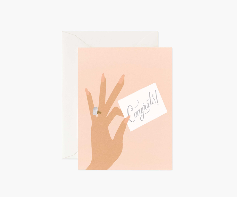 Congrats Ring Greeting Card