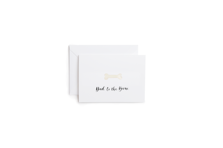 Dad to the Bone Greeting Card