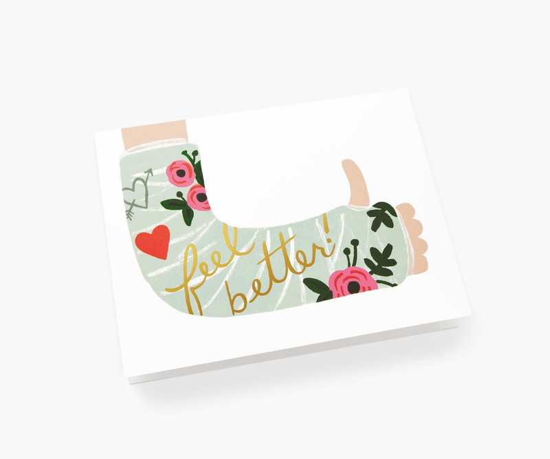 Feel Better Greeting Card