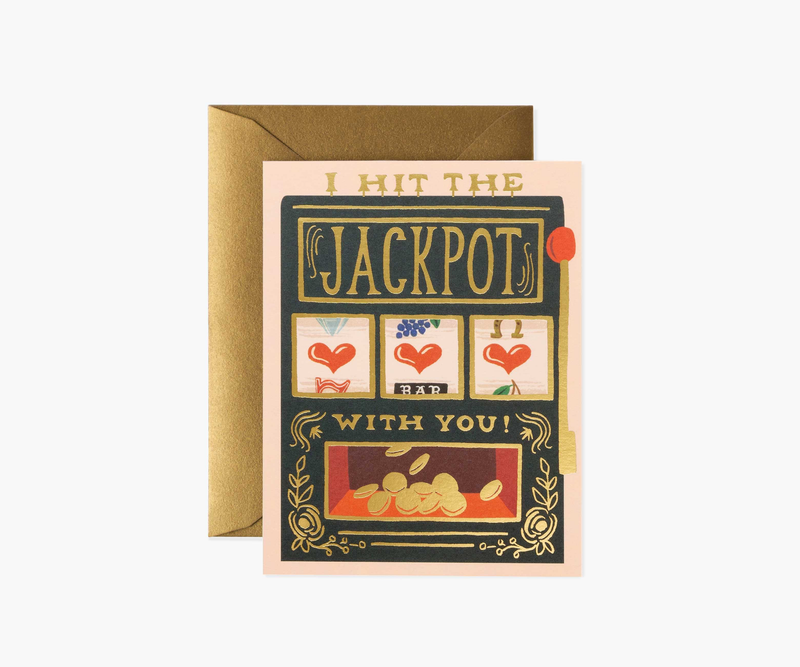 Jackpot Greeting Card