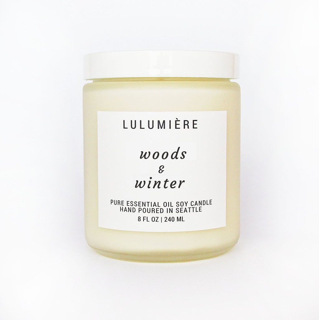 Woods & Winter Signature Candle