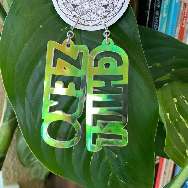 Zero Chill Holographic Earrings