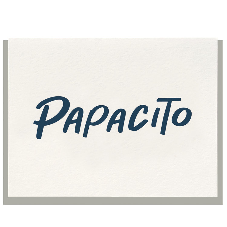 Papacito Greeting Card