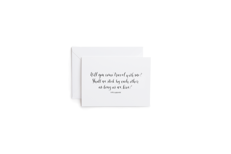 Travel With Me Greeting Card