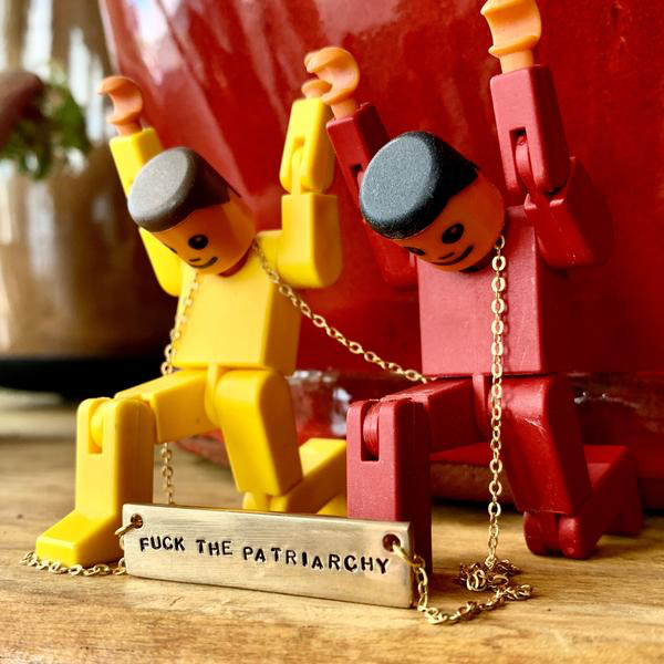 F the Patriarchy Necklace