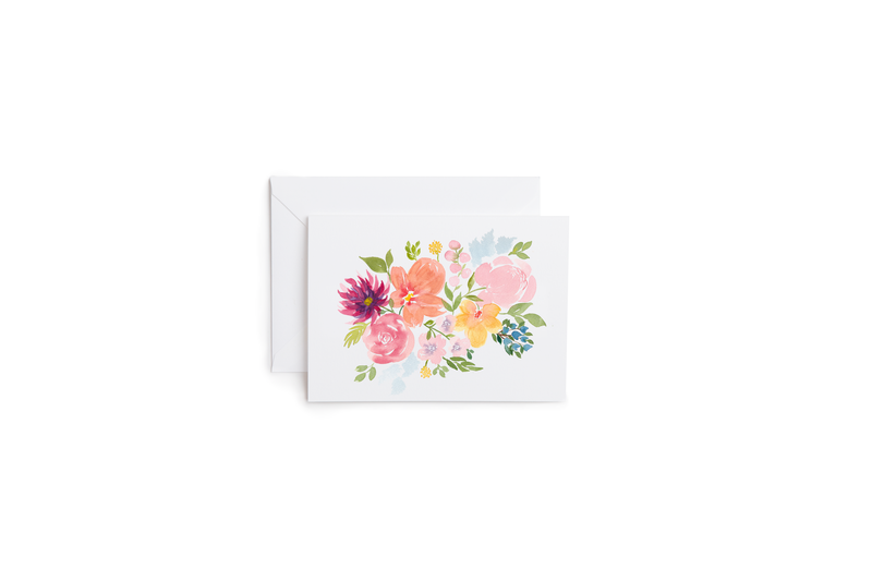 Bright Bouquet Greeting Card