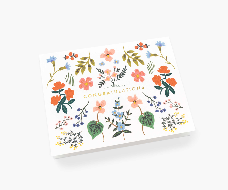 Wildwood Congrats Greeting Card