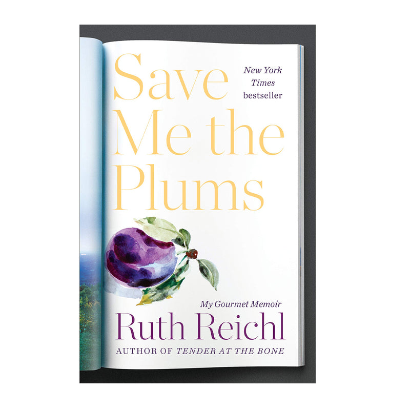 Save Me the Plums (Book)