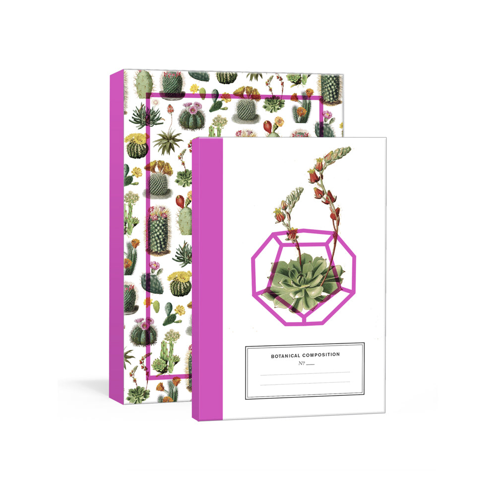 Botanical Journal Set: Cacti + Succulents
