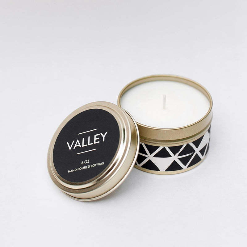 Valley Tin Candle