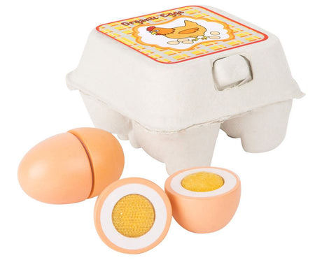 Legler Small Foot Crate of Eggs