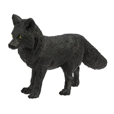 Safari North American Wildlife Black Fox Miniature