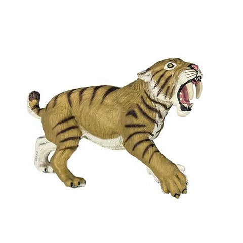 Safari Prehistoric World Smilodon Miniature