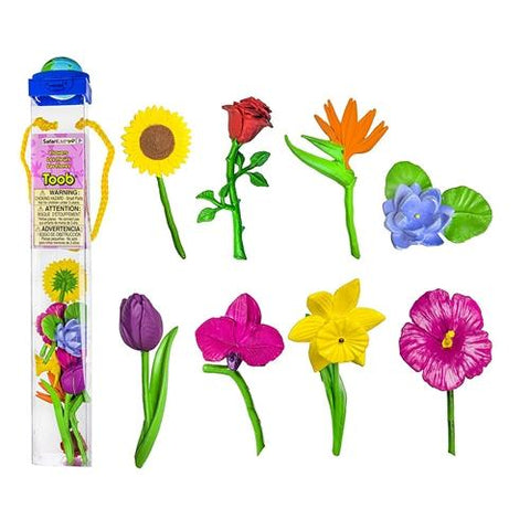 Safari Toob Flowers Miniatures
