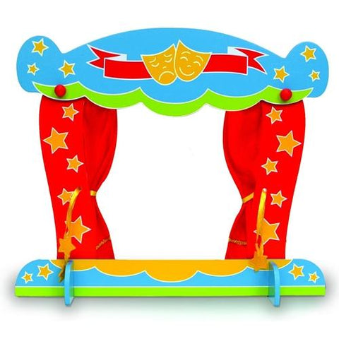 Fiesta Crafts Finger Puppet Theatre