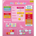 Fiesta Crafts Magnetic My Calendar (Pink)