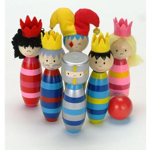 Fiesta Crafts Royal Wooden Skittles