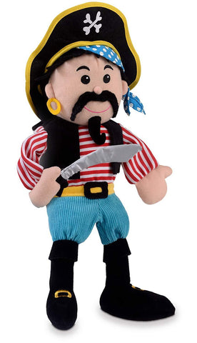 Fiesta Crafts Stripes Pirate Hand Puppet