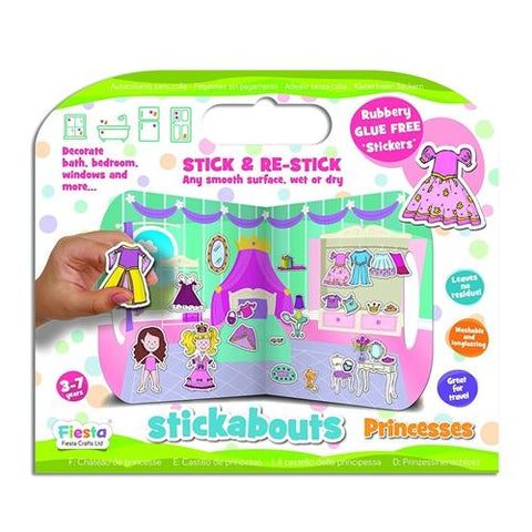 Fiesta Crafts Princess Stickabouts