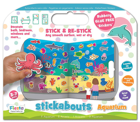 Fiesta Crafts Aquarium Stickabouts Activity Stickers