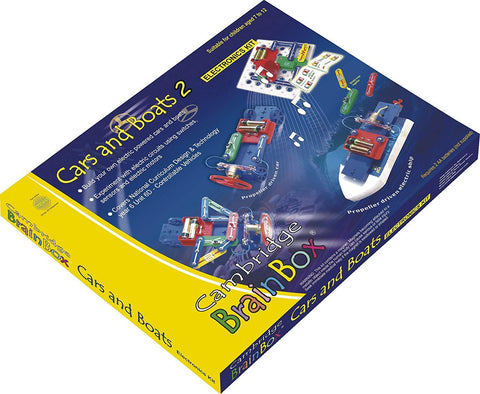 Cambridge Brainbox Cars and Boats 2 Kit