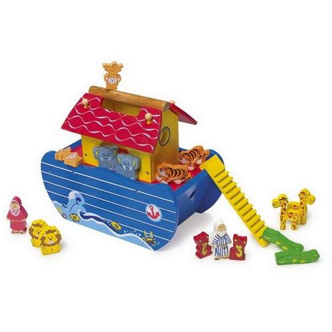 Noahs Ark Wooden Toy