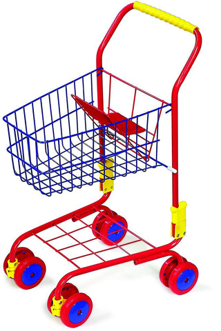 Legler Metal Doll's Shopping Trolley